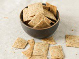 Gluten Free Garlic Herb Crackers (Dairy Free)
