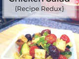 Greek Chicken Salad {Recipe Redux}