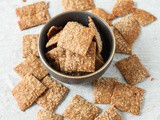 Homemade Cinnamon Sugar Crackers (Gluten Free)