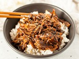 Instant Pot Korean Beef (Soy Free and Gluten Free)