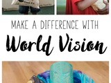 Make a Difference with World Vision (and Giveaway)