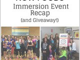 Now Foods Immersion Recap and Giveaway