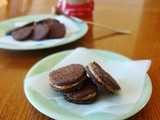 Oreo Cookies with Coconut Sugar Filling