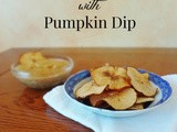 Pear Chips with Pumpkin Dip {Recipe Redux}
