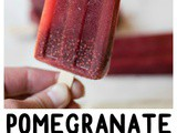 Pomegranate Chia Popsicles (and pom Wonderful Giveaway!)