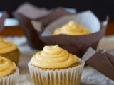 Pumpkin Spice Cupcakes with Pumpkin Buttercream (Gluten-Free and Vegan)