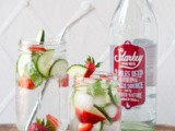 Strawberry Basil Infused Water (and Giveaway!)