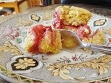 Sweet Cornbread with Strawberry Filling