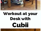 Workout at Your Desk with Cubii (Review and Discount!)