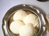 Idli |Soft and spongy idli's made from idli rava