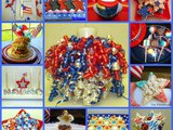 A Round~Up of Red, White and Blue Treats