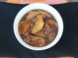 An Autumn Side Dish of Sauteed Apples