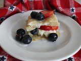 Blueberry and Strawberry Mini Napoleans w/ Mascarpone Cream