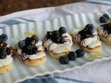 Blueberry Lemon Naan Bread Appetizer