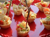 Ceviche Shrimp Cups / #BBQWeek