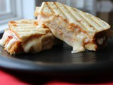 Chicken Marinara Panini / #SundaySupper