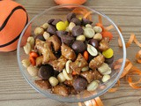 Chocolate Peanut Butter Pretzel Game Mix
