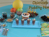 Chocolate Pudding Party on the Porch!~#Summer of Pudding