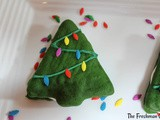 Christmas Tree Whoopie Pies / #ChristmasCookies
