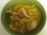 Crazy Cooking Challenge~Chicken Noodle Soup