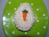 Easter Egg Carrot Cake~Holiday Recipe Club