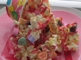 Hearts and Kisses Valentine Popcorn
