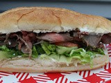 London Broil Steak Sandwiches / #BBQWeek