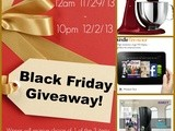 Make your Black Friday Green with this Giveaway