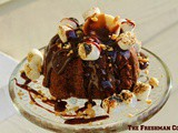 Nutty Chocolate Banana Bundt Cake/#BundtBakers