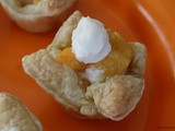 Peaches and Cream Mini Pies / Improv Cooking Challenge