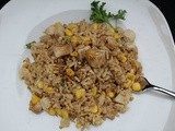 Pork Fried Rice / #SundaySupper