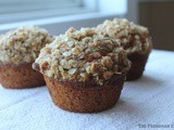 Pumpkin Muffins with Streusel Oat Topping