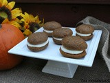 Pumpkin Whoopie Pies / #pumpkinweek