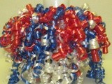 Red, White and Blue Party Centerpieces