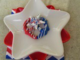 Red, White & Blue Pretzel Treats