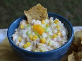 Roasted Corn Dip / #TasteCreations