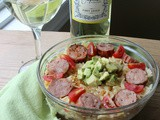 Sausage and Pasta Summer Salad
