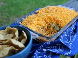 Southern Style Seven Layer Dip / #CookOutWeek2017