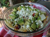 Southwestern  Cactus Needle  Pasta Salad / #CookoutWeek