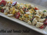 Tortellini and Tomato Salad /#FoodieExtravaganza