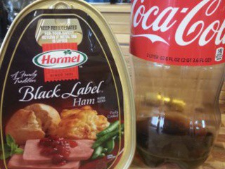 #1 Easter Recipe: Mama's Baked Coca-Cola Ham & Mustard Potato Salad