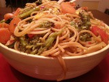 Friday Night Takeout | Vegetable Lo Mein
