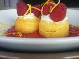 Happy Birthday Hass! | Meyer Lemon Cheesecakes with Raspberry Coulis & Lemon Oreo Crust