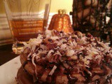 It's all in My Head | German Chocolate Pancakes with Honey Bourbon Syrup