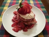 Just Like This: Mama's Old Timey Strawberries & Cream Cobbler
