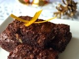 Christmas Menu: Dessert - Browned Butter Brownies with Baileys