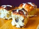 Easter recipe #1 - Hot Cross Buns