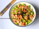 One Pot Meals Part 3 - Salmon and Edamame Fried Rice