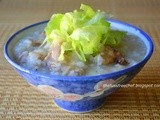 Roast Pork Bones Porridge