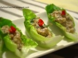Side Dishes / Appetizers: Post #1 : Sardines in Lettuce Boats